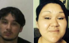 Photos of Michael French and Amanda Albert provided by London police.