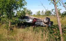 The scene of a fatal crash just off of Morris Rd. in Tilbury. (Photo courtesy of OPP via Twitter)