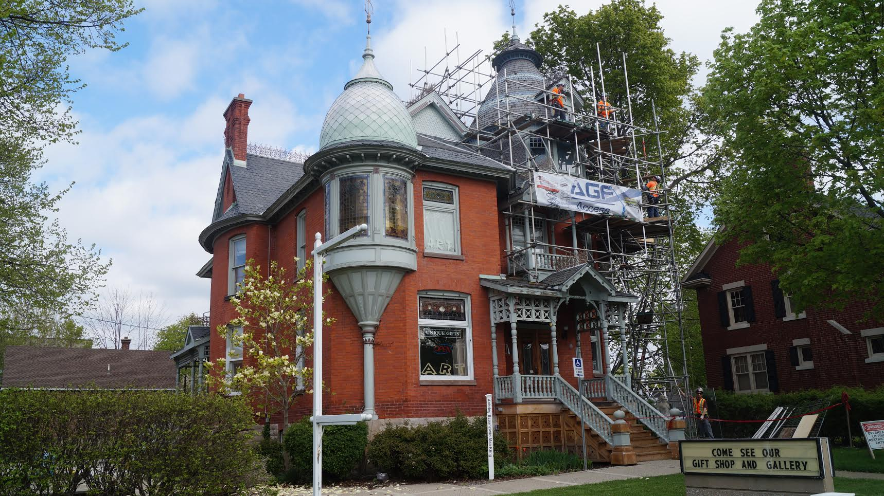 Lawrence House Renos Near Completion