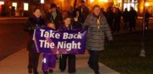 File Photo of Take Back The Night March by Kirk Scott, BlackburnNews.com