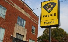 The OPP station in Harrow is seen in this October 11, 2016 file photo. (Photo by Ricardo Veneza)