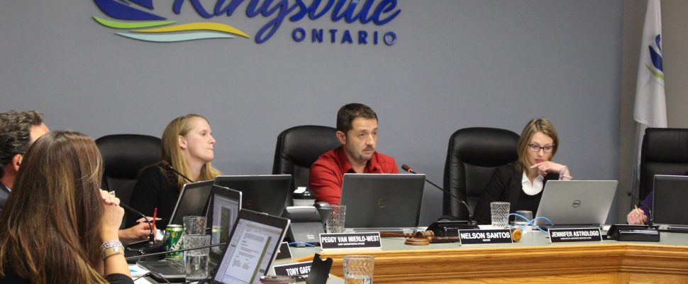 Kingsville council meets for its regular meeting on October 11, 2016. (Photo by Ricardo Veneza)
