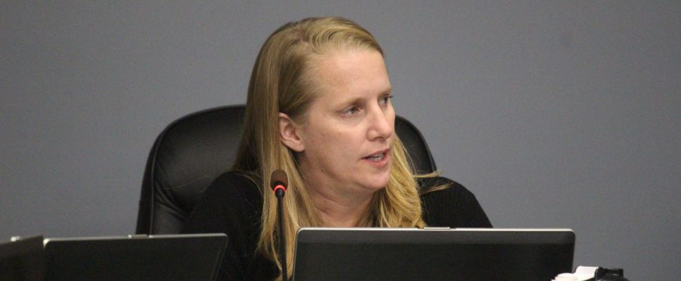Kingsville CAO Peggy Van Mierlo-West attends the regular meeting of council on October 11, 2016. (Photo by Ricardo Veneza)