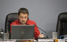 Nelson Santos, mayor of Kingsville, attends the regular meeting of council on October 11, 2016. (Photo by Ricardo Veneza)