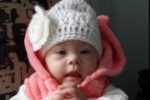 5-month-old Lydia Caven of Saugeen Shores was also born with congenital heart defects that will require delicate surgery.
