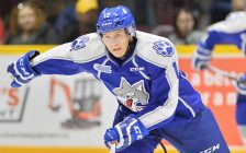 Brady Pataki of the Sudbury Wolves. Photo by Terry Wilson / OHL Images.