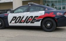 File photo of a Woodstock police cruiser. (Photo by Miranda Chant, Blackburn News.)