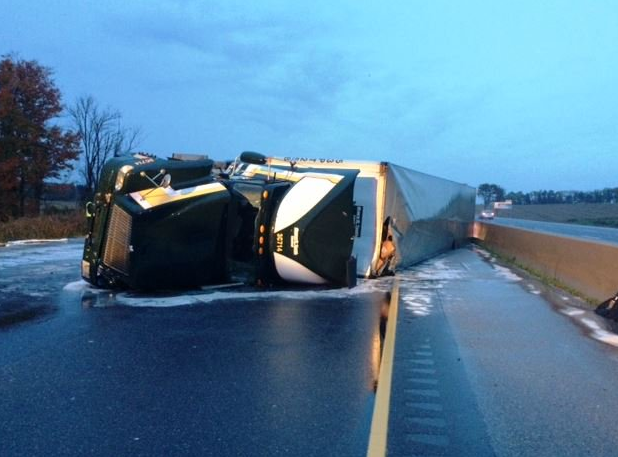 Charge Laid In Hwy. 401 Crash