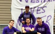 Images likes this one, showing a banner with the slogan 'Western Lives Matter' were posted to social media over the October 1-2, 2016 weekend, prompting backlash within the Western University community. (Photo courtesy of Instagram)
