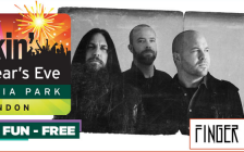 Photo of Canadian rock bank Finger Eleven courtesy of www.londonmusicoffice.com