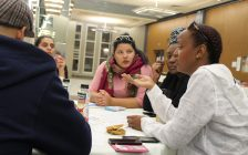 Locals attend the public consultation in Windsor, as part of the province-wide Independent Police Oversight Review, on November 15, 2016. (Photo by Ricardo Veneza)