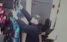 A still grabbed from a video released by Windsor police of a suspect in a theft investigation. (Photo courtesy the Windsor Police Service)