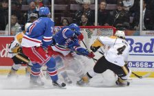 The Sarnia Sting vs the Kitchener Rangers Nov. 2, 2016 (Photo courtesy of Metcalfe Photography)