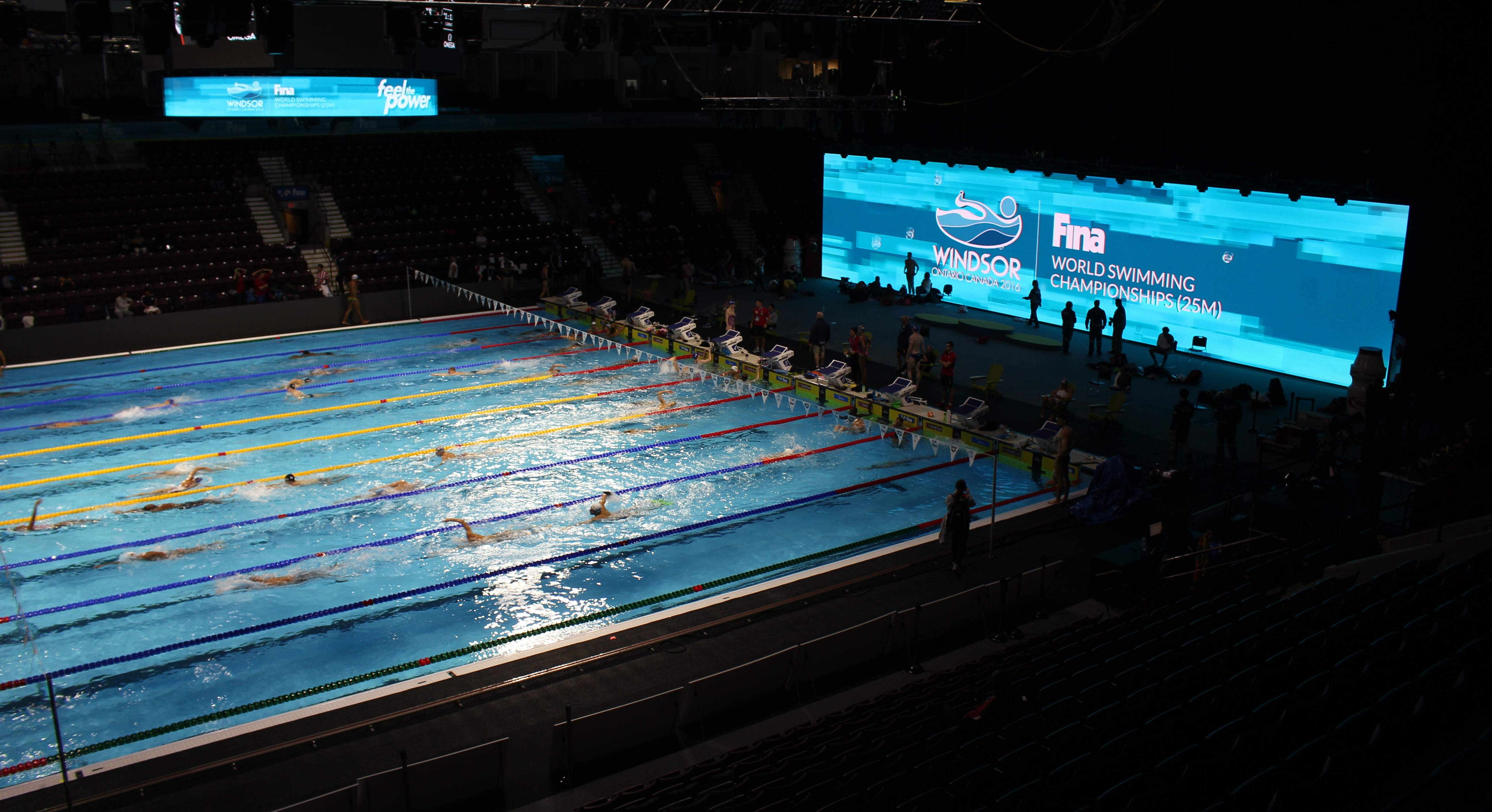 Fina Swimming Competitions Underway