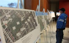 The Town of LaSalle holds an open house to inform residents of a proposed fix to flooding issues in the Heritage Estates and Oliver Farms area of town. Photo taken December 1, 2016. (Photo by Ricardo Veneza)