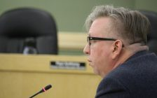 John Matheson with Strategy Corp gives an interim report on a ward boundary review at a special meeting of council on December 13, 2016. (Photo by Ricardo Veneza)