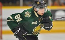 JJ Piccinich of the London Knights. (Photo courtesy of Terry Wilson via OHL Images)