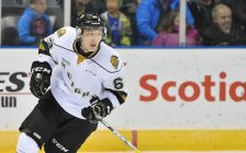 Cliff Pu of the London Knights. (Photo courtesy of Terry Wilson via OHL Images)