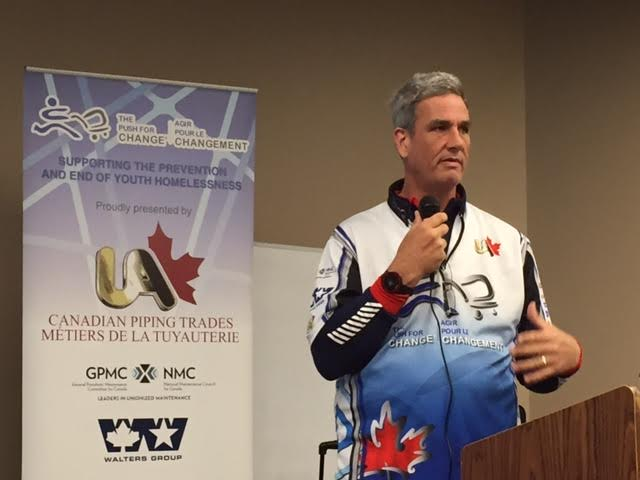 The Push For Change Visits Lambton College