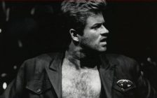 Photo of singer George Michael courtesy of Wikipedia.com.