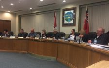 Town of Lakeshore councilors discuss 2017 budget, January 10, 2017. (Photo by Maureen Revait)