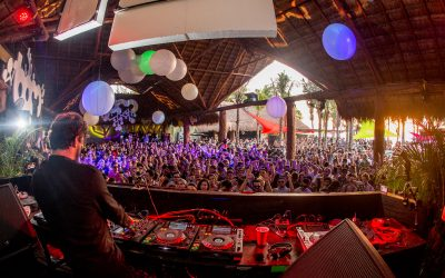 Photo of nightclub Blue Parrot in Playa del Carmen, Mexico courtesy of residentadvisor.net.