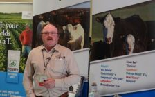 Beef Farmers of Ontario President Matt Bowman at Grey Bruce Farmers' Week.
