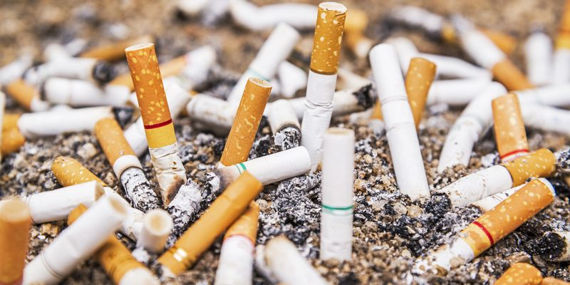 Cigarette butts. Photo courtesy of © Can Stock Photo / paktaotik
