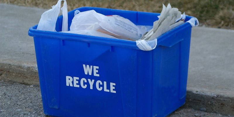 Photo of recycling box courtesy of © Can Stock Photo / Crysrob