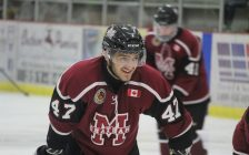 Chatham Maroons forward Ethan Sarfati. (Photo by Matt Weverink)