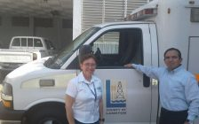 Ambulance donated to  the City of Chalatenango  in El Salvador by The County of Lambton. Submitted photo.