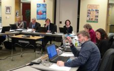 Bluewater District School Board meeting, Tuesday, Feb. 7th, 2017. (photo by Kirk Scott)