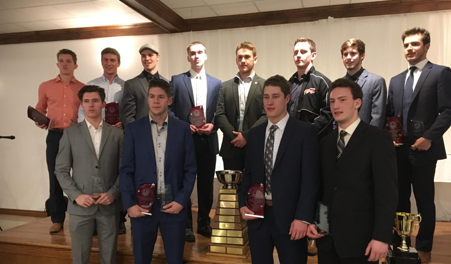 Local Winners At the GOJHL Awards Banquet