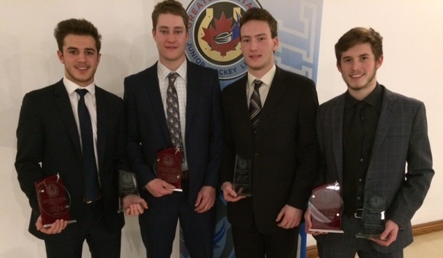 Players Honoured At GOJHL Western Conference Awards
