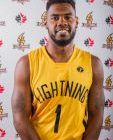 Kyle Johnson of the London Lightning (Photo courtesy of NBL/London Lightning)