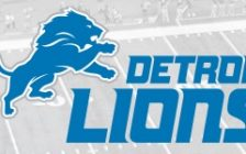 Detroit Lions logo featured on its web site, February 1, 2017. (Photo taken as a screen grab from the Detroit Lions web site)
