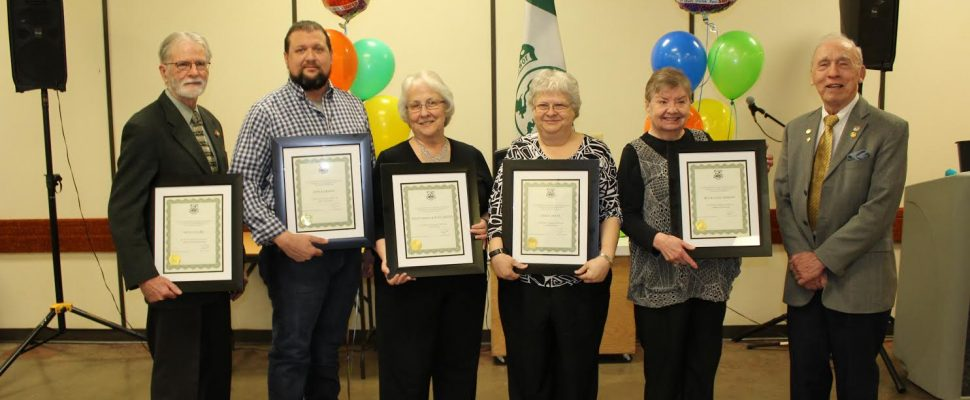 Petrolia Volunteer Awards submitted photo Feb 16/17