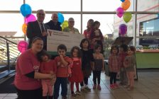 Kickoff ceremony for the YMCA's 2017 Strong Kids Campaign in Sarnia-Lambton. February 14, 2017 (BlackburnNews.com photo by Melanie Irwin)