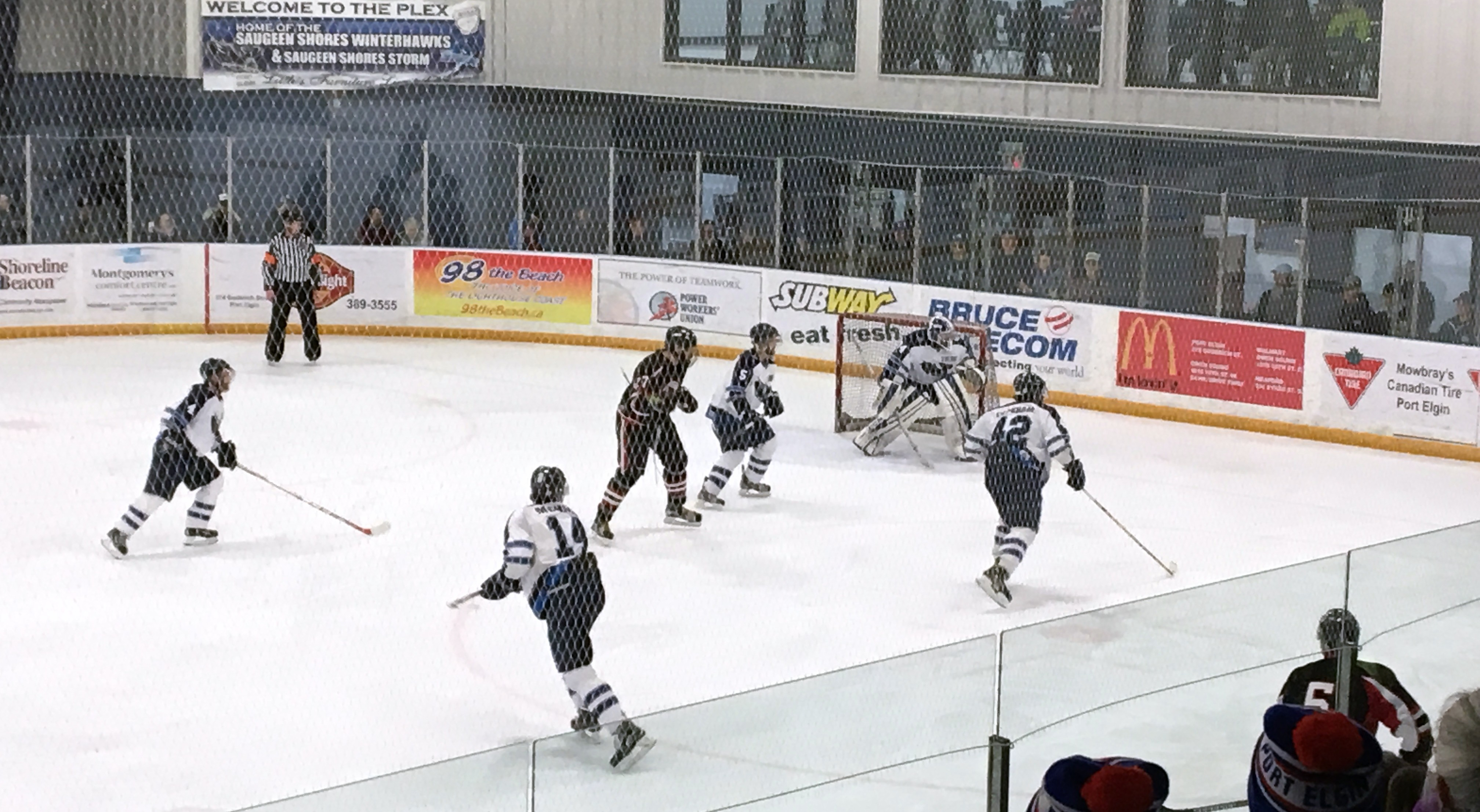 Saugeen Shores Triumphs In Overtime To Eliminate Durham