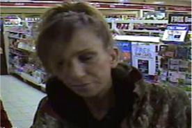 Suspect in a wallet theft and fraud, March 14, 2017. (Photo courtesy the Windsor Police Service)