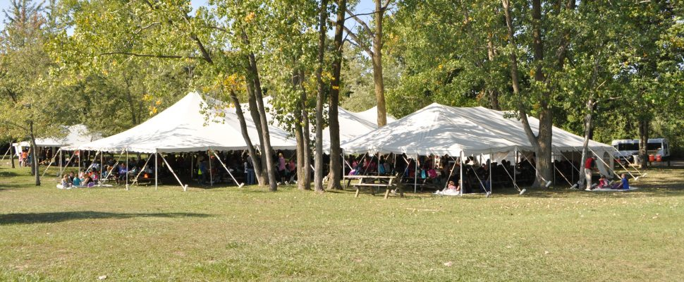 & BlackburnNews.com - Event Tent Damaged By Vandals