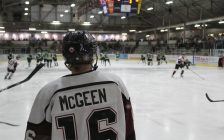 Chatham Maroons forward Teddy McGeen. March 5, 2017. (Photo by Matt Weverink)