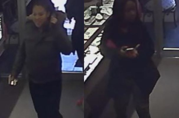 Suspected jewellery thieves, march 16, 2017. (Photo courtesy the Windsor Police Service.)