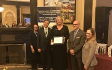 Sarnia-Lambton MP MKarilyn Gladu is recognized by the Engineers Canada Board. March 9, 2017 (Submitted photo.)