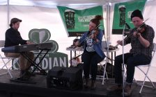 Entertainment at Kildare House in Walkerville, March 17, 2017. (Photo by Maureen Revait)