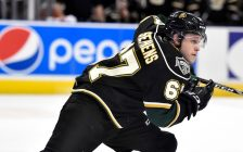 Mitchell Stephens of the London Knights. (Photo courtesy of Aaron Bell via OHL Images)