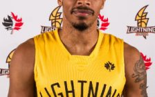 Doug Herring Jr. of the London Lightning.  Photo courtesy of London Lightning/NBL.