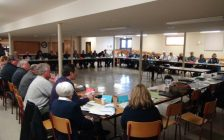 Politicians Meeting at the Elmwood Community Centre. (Photo by Kirk Scott)