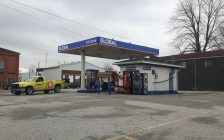 Gabby's Express Gas Station on St. George St. in Dresden. April 10, 2017. (Photo courtesy of Ted Misselbrook via Facebook)