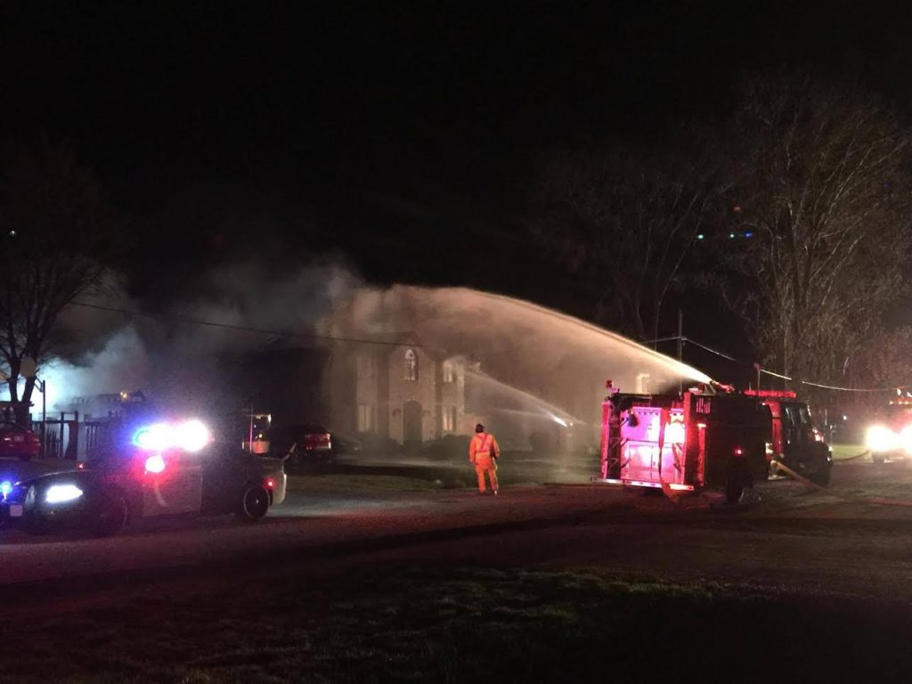 Camlachie House Fire